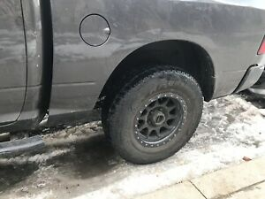Rims and tires like new