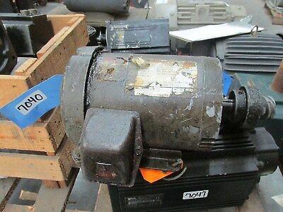 Ac Electric Motor 1hp 1750 Rpm 208-230460 V 360 143tc Tefc Encl