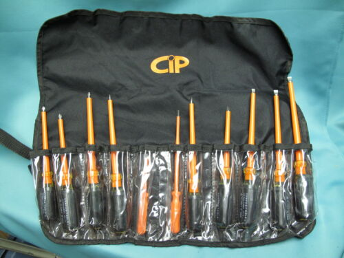 Certified Insulated Products CIP Electrical Screwdriver Set New! 1000 Volt
