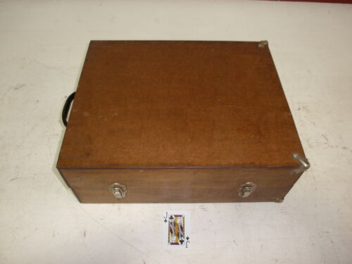 Vintage Wood Printers Print Typeset Tray Drawer Shadow Box Case