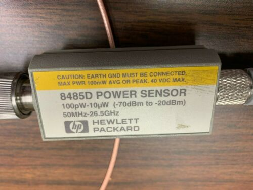 HP 8485D  Power Sensor 100pW-10uW 50Mhz-26.5Ghz