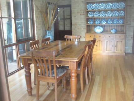 "Dinning Room Setting  -  Rosebank Cottage ""Rare"" Country Series Darlington Mundaring Area Preview"