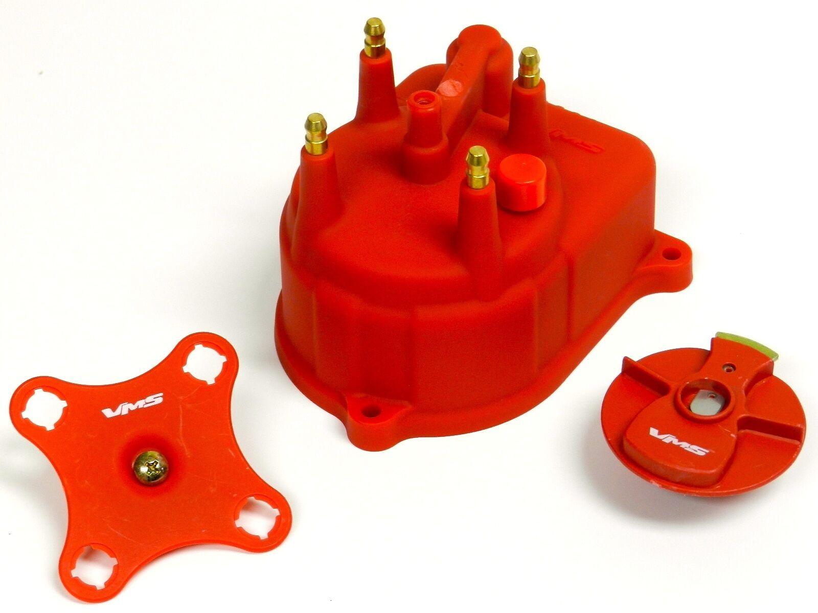 Distributor Cap Rotor Spark Plug Wire Fuel Filter 96 00 Honda Civic Prelude 2 Of 5