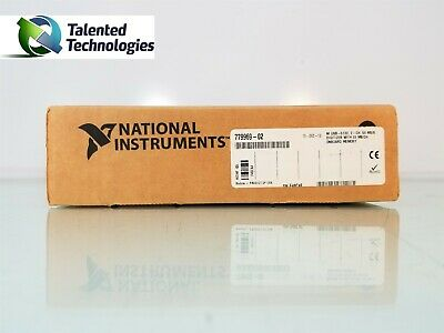 National Instruments Ni Usb-5132 50mhz 2 Channel 8-bit Usb Oscilloscope Device