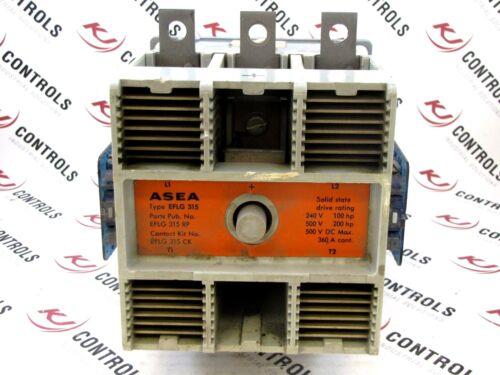 ASEA BROWN BOVERI (ABB) - EFLG 315 - CONTACTOR