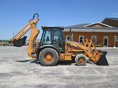 Case 580m Series 2 Farm Tractor Loader Backhoe