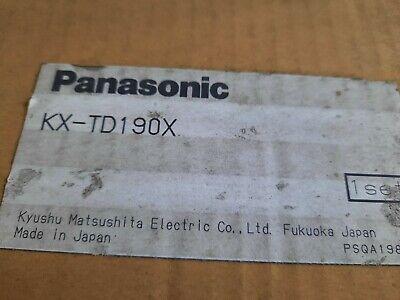 1x Panasonic Kx-td190x Pbx Message Digital Super Hybrid System Card New