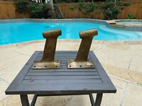 New Propeller Shaft Struts (2)   1-1/4 Inch Bore   11.5°   Manganese Bronze