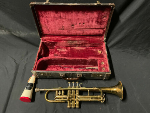 Vintage 1937 C.G. Conn Trumpet s/n 322598