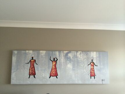 Canvas Wall Art Tapping Wanneroo Area Preview