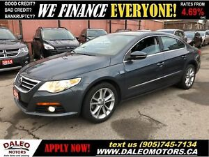 2012 Volkswagen Passat CC|LEATHER|HEATED SEATS|BLUETOOTH