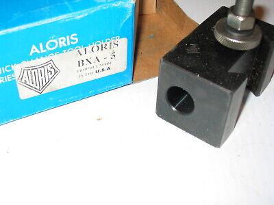 Aloris Bxa-5 2mt 2 Mt Morse Taper Shank Drill Bit Reamer Tool Post Holder