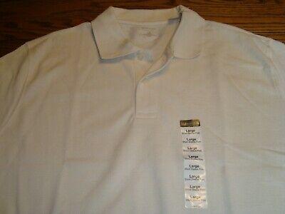Heritage Classic-shirt (ST. JOHNS BAY Beige Short Sleeve Heritage Polo Classic Shirt - Size Large - New)