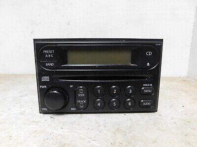 2002-2004 Nissan Xterra Radio Receiver AM FM CD OEM LKQ
