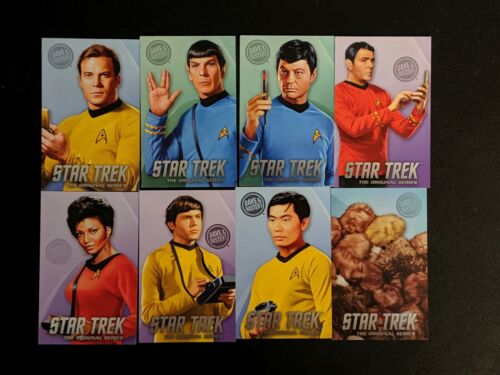 Dave & Busters Star Trek Cards Complete Full Set Rare Tribbles Original Series