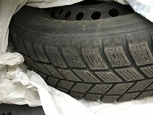 "16"" Volvo winter tires and rims - Hancook I-Pike RCO-1"