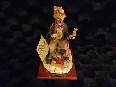 J.J. JONES CLOWN FIGURINE 1988 DAVAR PRODUCTS CLEANING BROOM BOOK, used for sale  Argos