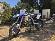 Yamaha YZ450F Redwood Park Tea Tree Gully Area Preview