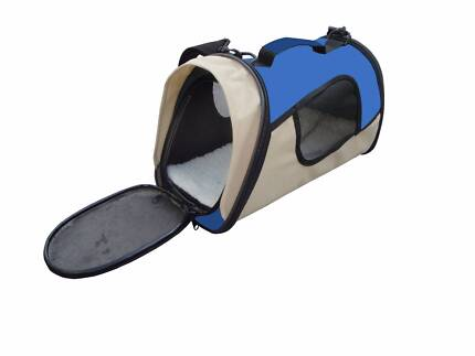 Pet Carrier Dog Cat Soft Crate Cage Portable Foldable Travel Bag
