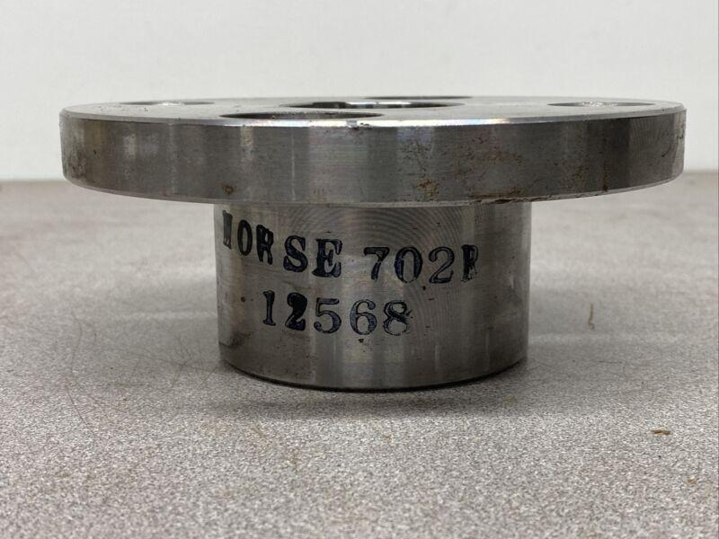 "NEW NO BOX Morse 012568 Elastomeric Coupling Flange - Size 702R - 1-3/4"" Bore"