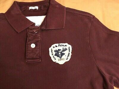 Men's Vintage Abercrombie & Fitch A&F Polo Shirt - Large