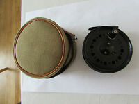 Vintage Youngs Early Beaudex Trout Fly Fishing Reel 3.5, + Padded Case -  - ebay.co.uk
