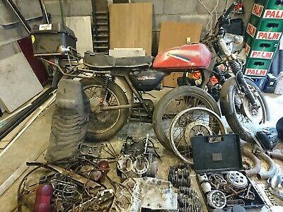SUZUKI GT500 1976 Basket Case for Restoration or Spares