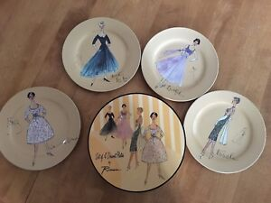 Cocktail dessert plates