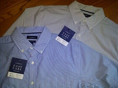 Cotton Blend Short Sleeve Shirt - NWT, $36. MSRP, Mens  CROFT & BARROW EASY CARE  Cotton Blend  Short Sleeve Shirt