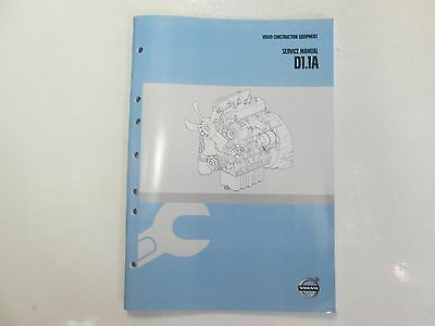 2015 Volvo Construction Equipment D1.1a Service Repair Manual Factory Oem 15