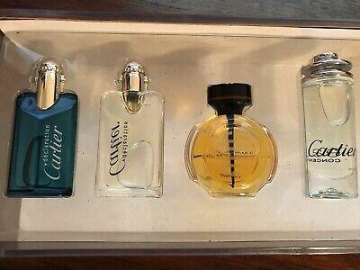 Braiser Set (4 PC CARTIER Perfume Mini Set ESSENSE DECLARATION LE BRAISER DRAGON AUTHENTIC)