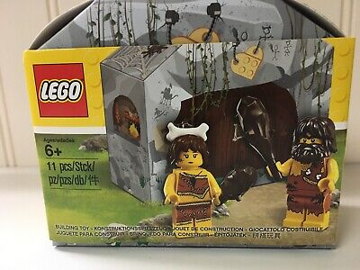 LEGO 5004936 Caveman & Cavewoman Minifigure Set  NIB Exclusive 2017 Set
