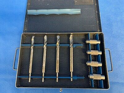Acufex Orthopedic Cannulated Endoscopic Drill Bit Set 11mm-14mm 013547-013551