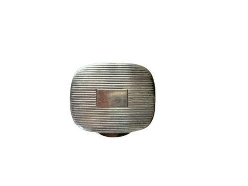 Tiffany & Co Art Deco Silver Pill Box Italy 925 Sterling Sliver Vintage