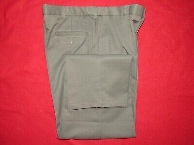 Mens Olive Haggar Dress Pants  38 x 32