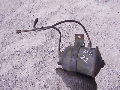 Massey Harris 22 Tractor Mh Engine Motor Oil Filter Canister Lines 22