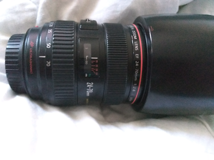 Canon 24-70mm 2.8 L LIKE NEW