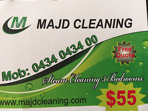 carpet steam cleaning 3 bedrooms $55! Epping Whittlesea Area Preview