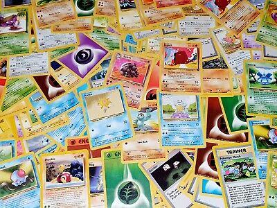 x40 WOTC Original Mixed Pokemon Cards Bundle Lot - Base, Fossil, Jungle + more!!