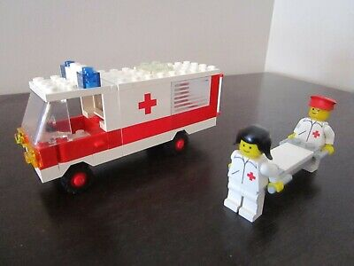 Vintage (1981) LEGO Town Medical set 6680 Ambulance - VERY RARE