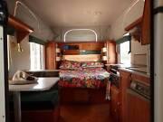 Pristine Coromal Pop-top caravan Peeramon Tablelands Preview