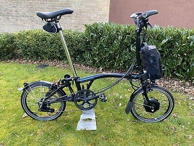 Brompton electric bike folding bike M6L