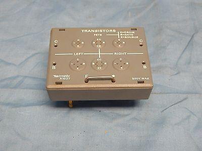 New Tektronix A1007 Curve Tracer Test Fixture