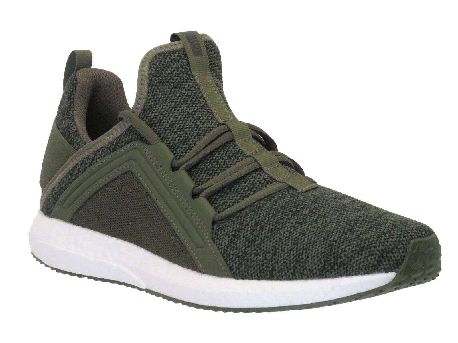 PUMA Men's Mega Nrgy Knit Ankle-High Running Shoe