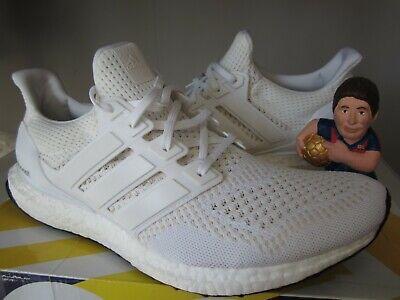 adb0d438 Adidas Ultra Boost 1.0 All White S77416 US 11.5 Men's Receipt Triple Ltd OG