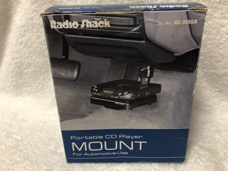 Radio Shack Portable CD Player Mount For Automotive Use Car Holder 42-3050A