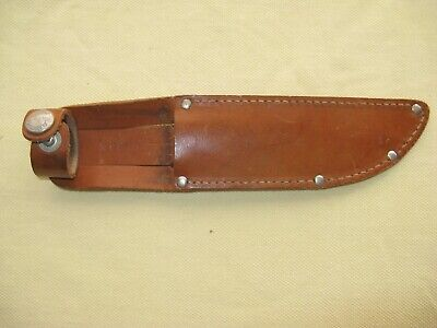 """Vintage Marbles Sheath for Marbles Gladstone Mich Ideal or Expert knife 5"""" Blade"""