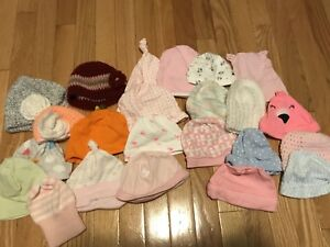 Baby hats/toques