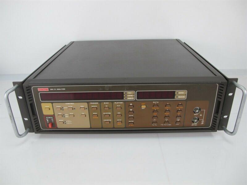 Keithley 590 CV Capacitance Voltage Analyzer