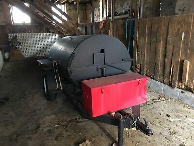 5 X 10 Heavy-duty Open Barbecue Pit Barbacoa Smoker Trailer For Sale In Sou